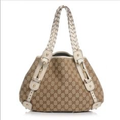 f80f1e2ba6a Gucci Monogram Pelham Shoulder Bag Gucci Purses