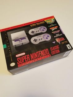 #videogames #Gamers #nintendo classic mini Super Nintendo Entertainment System SNES Classic Edition Mini 64.00      Item specifics    									 			Condition:  												 																	 															  															 															 																New: A brand-new, unused, unopened,...