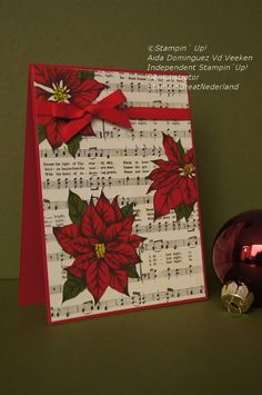 Stampin'Up!, Home for christmas DSP, Christmas card