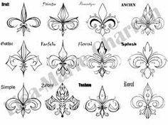 fleur de lis celtic knot tattoos - Google Search