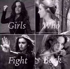Vampire Academy, Divergent, The Mortal Instruments, The Hunger Games