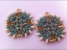 tutorial earrings rizo and superduo