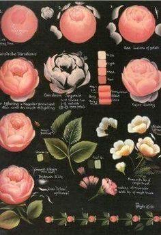 New Painting Tutorial Rose 67 Ideas Rock Flowers, Lavender Flowers, Diy Flowers, One Stroke Painting, Diy Painting, Painting Flowers, Tole Painting, Cool Paintings, Watercolor Paintings