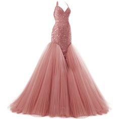 zuhair murad edited by metalheavy ❤ liked on Polyvore featuring dresses, gowns, long dresses, vestidos and ball gown