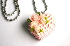 Miniature Polymer Clay Bakery Supplies for Beaded by minihandmade, $9.50