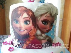 Tarta Princesas Frozen