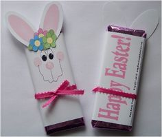 Easter candy bar wrapper...for Landry's daycare buddies:)
