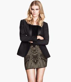 Jaquard Knit Art Deco Skirt  http://www.hm.com/us/product/21555?article=21555-A