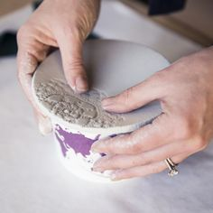 DIY Textured Clay Dish