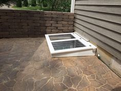 DIY Custom Window Well Cover