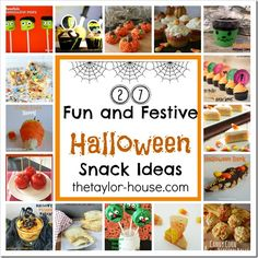 FUN Halloween ideas!