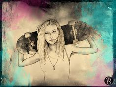 SKATER GIRL by Tina Smith