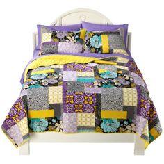 Xhilaration® Patchwork Quilt - Purple