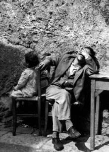 Luciano D'Alessandro - Il disoccupato, Napoli, 1956