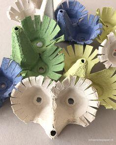 Little Girl Crafts, Diy Crafts For Kids, Arts And Crafts, Paper Crafts, Wood Crafts, Egg Carton Art, Egg Carton Crafts, Egg Cartons, Diy Niños Manualidades