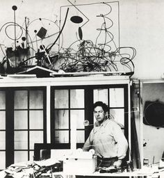 Calder's Studio on the Rue de la Colonie, Paris, 1931, Photo by Marc Vaux