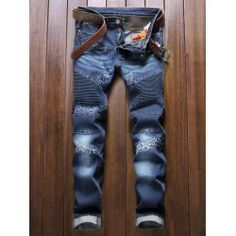 SHARE & Get it FREE   Zipper Fly Multi-Pocket Paneled Biker JeansFor Fashion Lovers only:80,000+ Items • FREE SHIPPING Join Twinkledeals: Get YOUR $50 NOW!