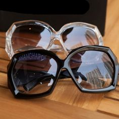 Ladies Crystal Black Frame Sunglasses Shades Oversized Women Large Big Fashion in Sunglasses | eBay