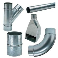 Spiral Pipe and Fittings for Dust Collection System - Rockler.com