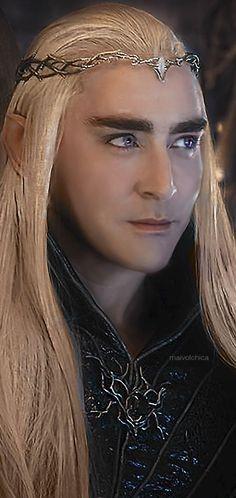 #LeePace as Thranduil in The Hobbit: The Battle of the Five Armies. Fan edit.