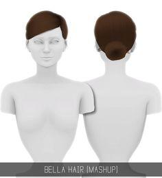 Simpliciaty: Skye hair retextured for Sims 4 The Sims 4 Pc, Sims Four, Sims 4 Cas, Sims Cc, Sims 4 Black Hair, Pelo Sims, Sims 4 Game Mods, Sims Games, The Sims 4 Cabelos