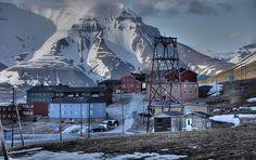 Longyearbyen, Svalbard, Norway.
