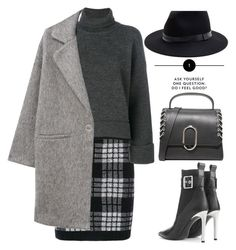 """""""Untitled #725"""" by jovana-p-com ❤ liked on Polyvore featuring Balmain, rag & bone, Sole Society, Dsquared2, MANGO and 3.1 Phillip Lim"""