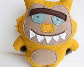 Phil the Monster by MinnieMillery on Etsy