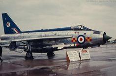 XN732 E.E. Lightning F 3 92 Squadron RAF. Photo by Waldemar Winckler