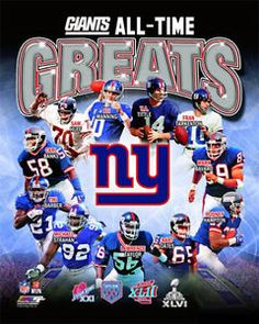 #NYG All Time Greats