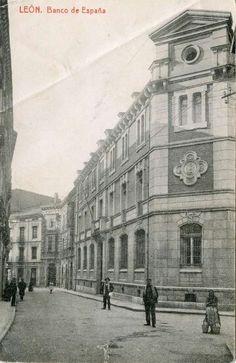 León, fotos antiguas, calle de Sierra Pambley.