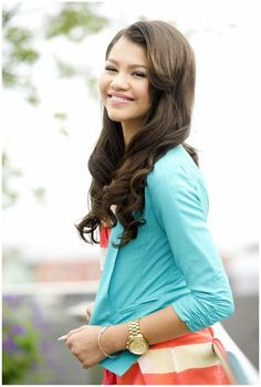 Zendaya Coleman. Her hair is always perfect.