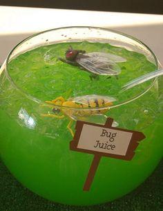 ideas halloween bebidas insectos