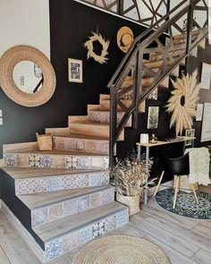 Discover recipes, home ideas, style inspiration and other ideas to try. Interior Exterior, Interior Design, Modern Interior, Accent Walls In Living Room, Living Rooms, House Stairs, My Dream Home, Interior Inspiration, Home Remodeling