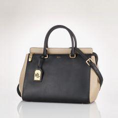 Whitby Leather Satchel - Lauren Hobos & Shoulder Bags - RalphLauren.com