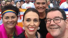 Jacinda Ardern becomes the first New Zealand PM to join Auckland Pride march