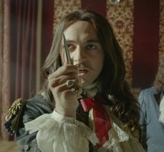 George Blagden as King Louis XIV in Versailles