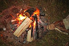 Survival Skills: Three Ways to Keep the Fire Going