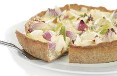 Er du glad i løk. så er denne paien noe for deg. En smakfull og spennende helgemiddag. Serveres med grønn salat.