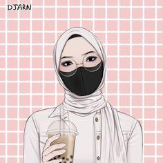 Cartoon Wallpaper Iphone, Anime Wallpaper Live, Cool Anime Girl, Anime Art Girl, Muslim Pictures, Islamic Cartoon, Anime Muslim, Hijab Cartoon, Drawing Wallpaper