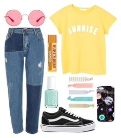 """""""VIII"""" by mclouister ❤ liked on Polyvore featuring River Island, MANGO, Ray-Ban, Vans, Nikki Strange, Accessorize and Essie"""