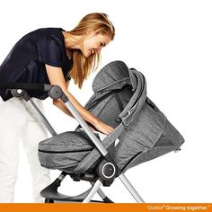Keep baby snug as a bug on your strollers with Stokke Scoot and Softbag for young babies