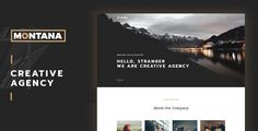 Montana - Modern & Complete One Page Portfolio WordPress Theme by wpbrothers Montana got nominated on AWWWARDS It¡¯s based on Bootstrap framework and HTML5/CSS3 technologies, withclean and elegant, fully res