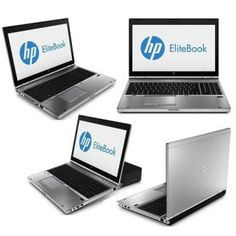 HP EliteBook 8570p, Intel Core i7, CPU 3520M, 2.90 GHz, 4 GB DDR3, 250 GB HDD, AMD Radeon