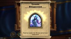 Tyrande Whisperwind hero