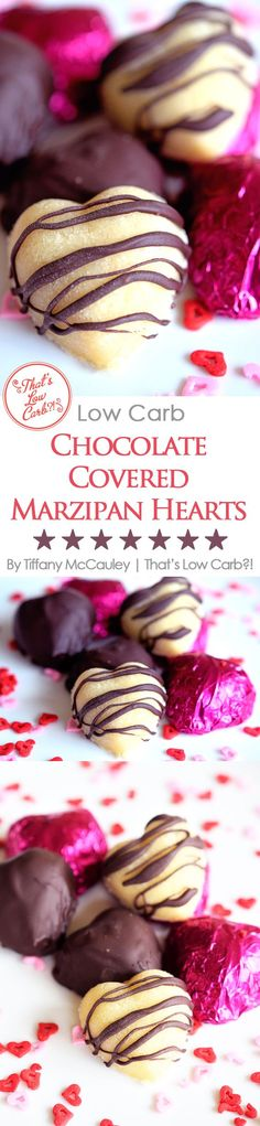 Low Carb Recipes | Low Carb Valentine's Day | Low Carb Marzipan | Low Carb Chocoalte | Low Carb Candy Recipes | Valentines Recipes (Favorite Desserts Low Carb)