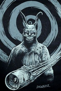 donnie darko frank drawing - Google Search