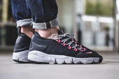 "On-Foot: Nike Air Footscape NM ""Black, Grey & Red"" - EU Kicks Sneaker Magazine"