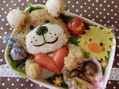 kawaii bento box (> v <) <3