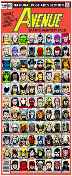 Who will be the greatest members of the Avengers?